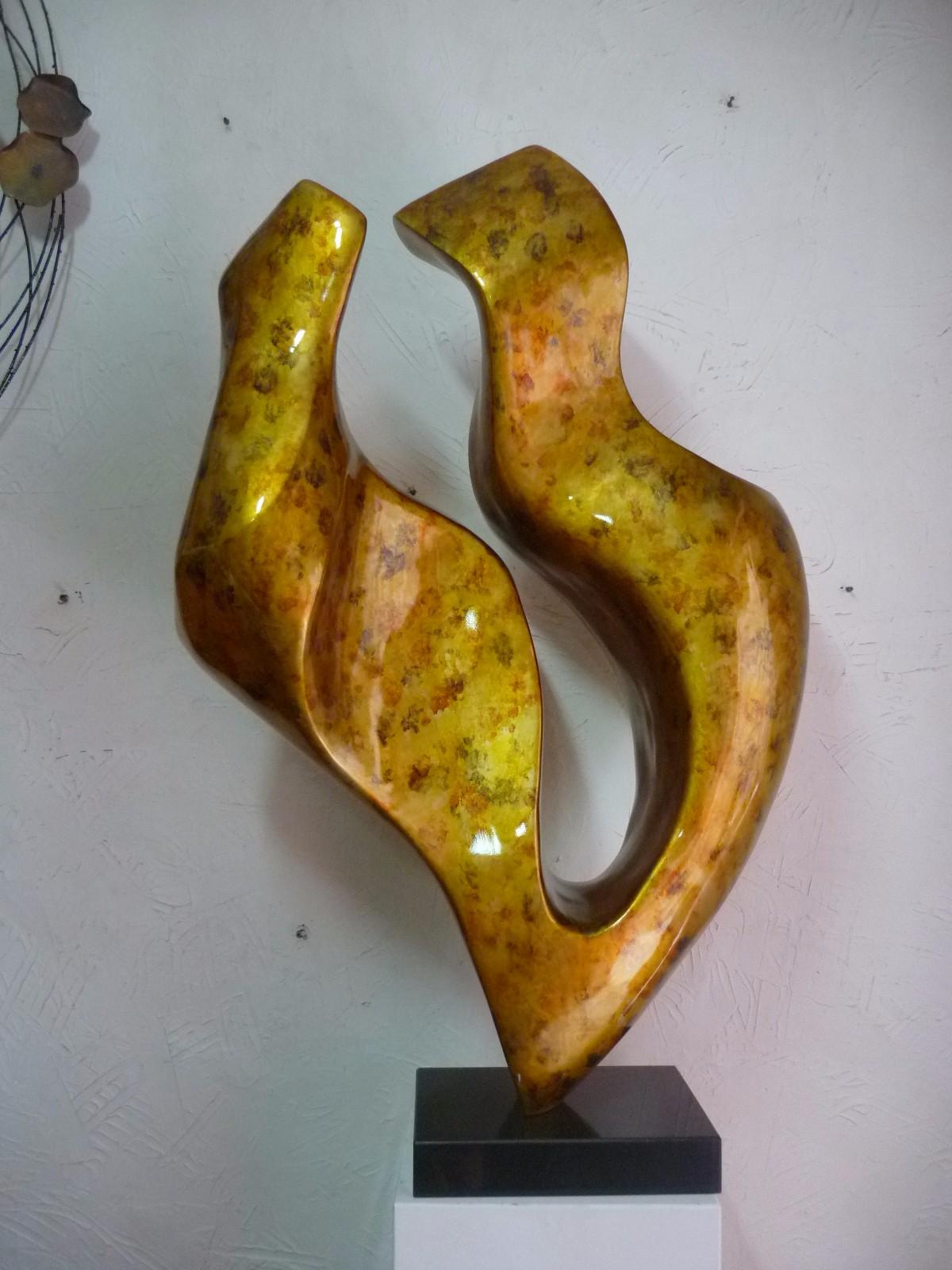 铜雕艺术_抽象系列_艺术家居系列_产品世界_湖南南博湾文化传播有限公司